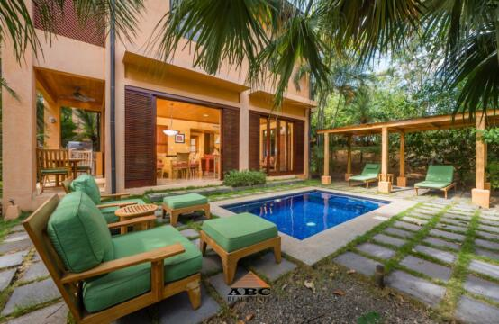 Colibri 6-4 – Charming villa in gated community with direct beach access to both Langosta and Tamarindo