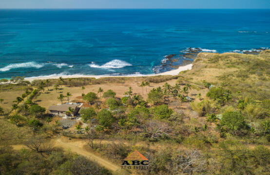 Large Beach front Property in Guanacaste, Costa Rica - Aerial view 1