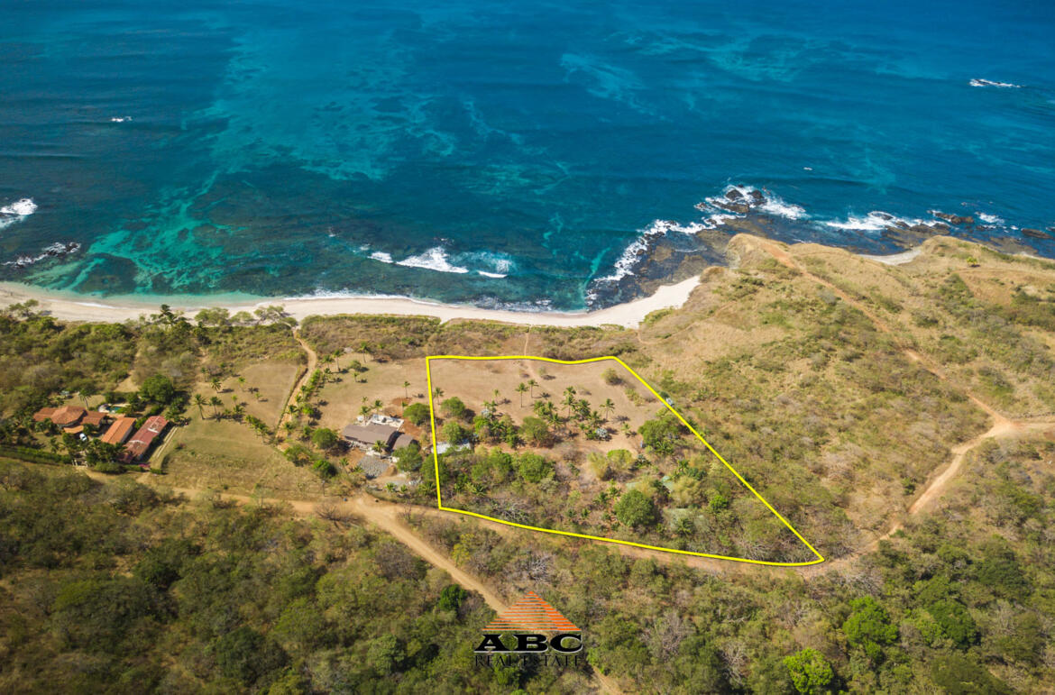 Large Beach front Property in Guanacaste, Costa Rica - Aerial view 2