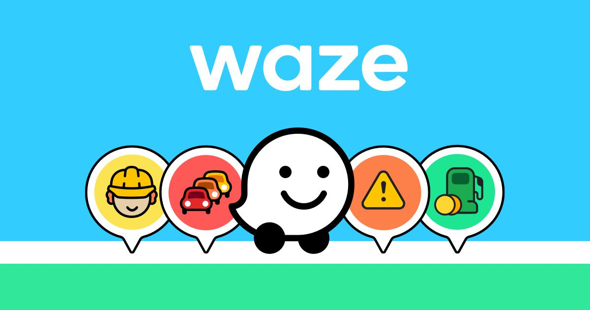 Waze - tool to find locations